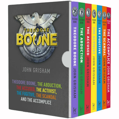 Theodore Boone Series Books 1 - 7 Collection Box Set - Paperback by John Grisham