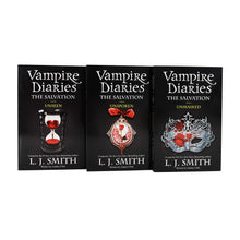 Load image into Gallery viewer, Vampire Diaries The Salvation 11-13 Books Young Adult Set Paperback By L J Smith