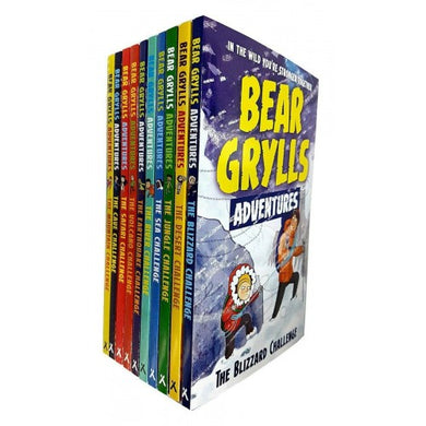 Bear Grylls Adventure Series 10 Book Collection - Bangzo Books Wholesale