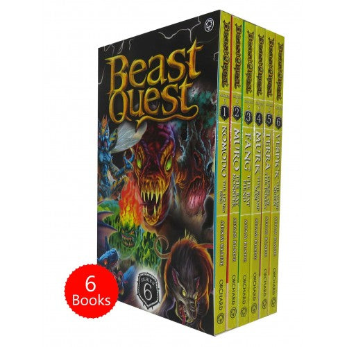Beast Quest Series 6 - 6 Book Collection