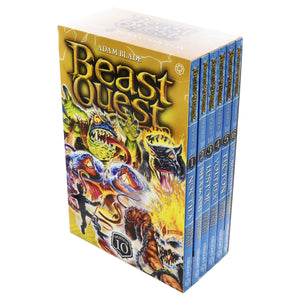 Beast Quest 6 Books Series 10 Children Collection Paperback Box Set By Adam Blade