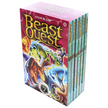 Load image into Gallery viewer, Beast Quest 6 Books Series 7 Children Collection Paperback Box Set By Adam Blade