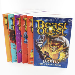 Beast Quest 6 Books Series 9 Children Collection Paperback Box Set By Adam Blade