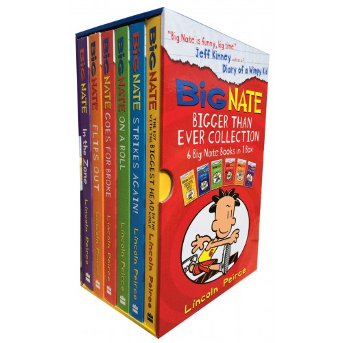 Big Nate 6 Books Young Adult Collection Paperback Box Set By Lincoln Peirce