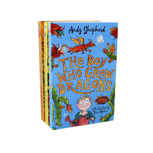 The Boy Who Grew Dragons 3 Books Collection - Ages 5-7 - Paperback - Andy Shepherd