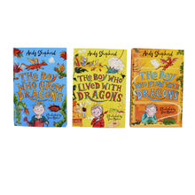 Load image into Gallery viewer, The Boy Who Grew Dragons 3 Books Collection - Ages 5-7 - Paperback - Andy Shepherd