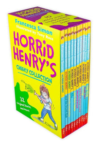 Horrid Henry Cheeky 10 Book Collection
