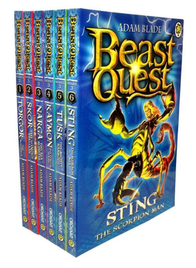 Beast Quest Series 3 - 6 Book Collection