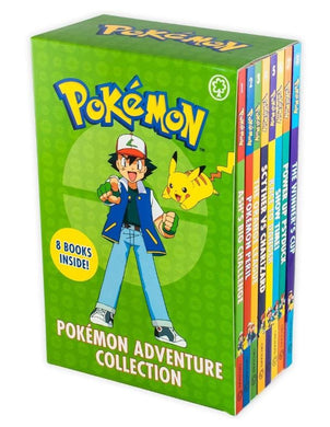 Pokemon Adventure 8 Book Collection