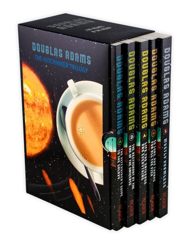Hitchhiker's Guide to the Galaxy 5 Books Collection