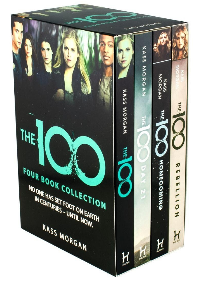 The 100 4 Book Collection by Kass Morgan