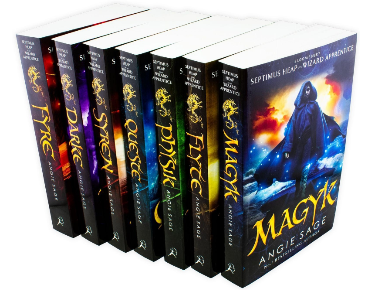 Septimus Heap Angie Sage 7 Books Set