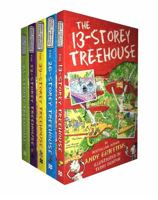Treehouse 5 Book Collection
