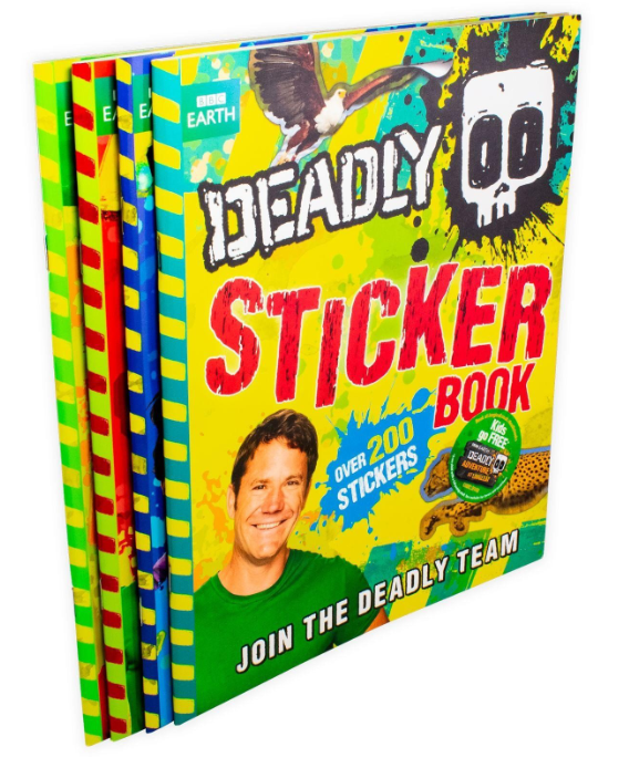 Deadly 60 Activity 4 Book Collection