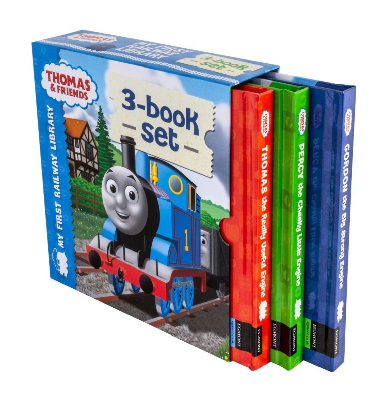 Thomas & Friends My First Railway Library 3 Books Set