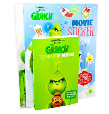 Dr. Seuss' The Grinch 3 Books