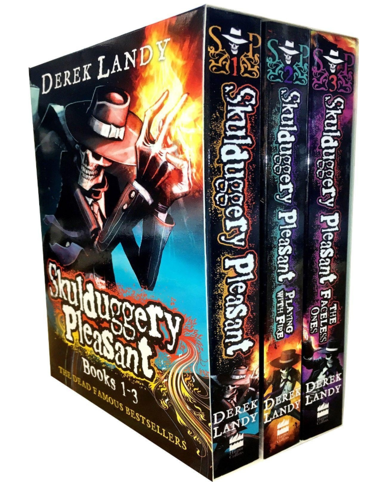 Skulduggery Pleasant Series 1 Box Set