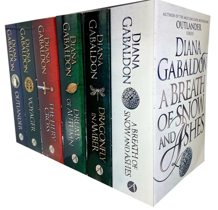 Diana Gabaldon 6 Books Set Outlander