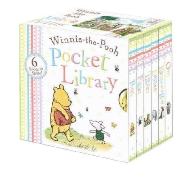 Winnie The Pooh 6 Book Pocket Library