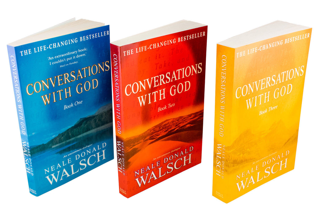 Conversations with God 3 Books Collection - Bangzo Books Wholesale