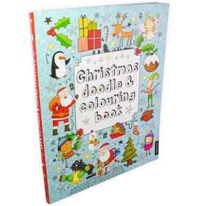 Christmas Doodle and Colouring Book - Bangzo Books Wholesale