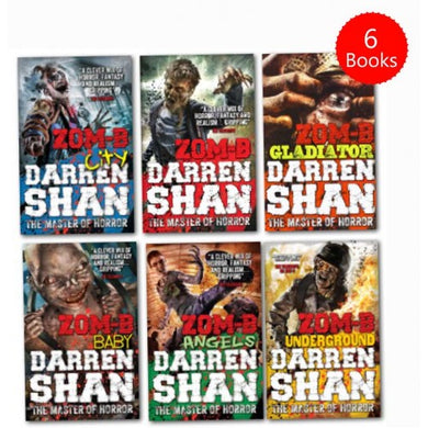 Darren Shan Zom-B Collection 6 Books