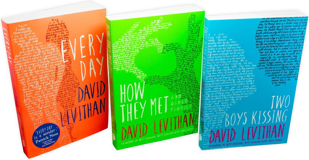 David Levithan 3 Book Collection