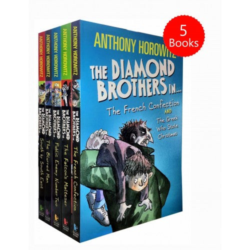 Anthony Horowitz Diamond Brothers Series 5 Books Children Collection Paperback Set