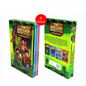 The Dinosaur Detectives Collection 4 Books