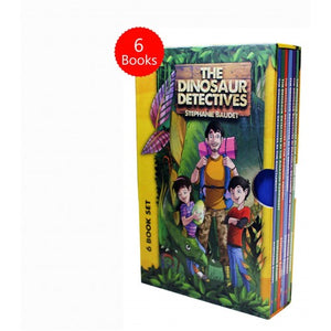 The Dinosaur Detectives Six Book Collection