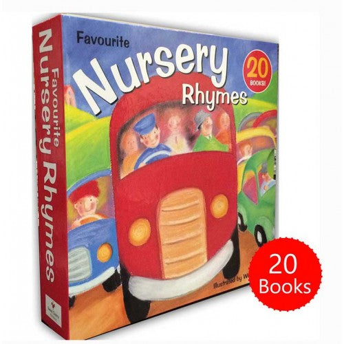 Favourite Nursery Rhymes 20 Books Box Set