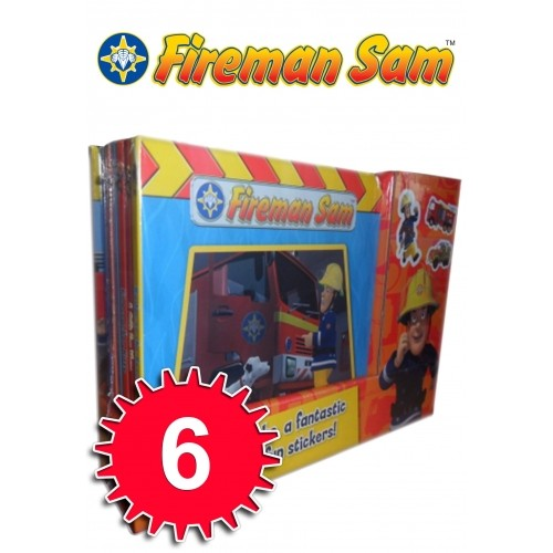 Fireman Sam Pocket Library 6 Books - Bangzo Books Wholesale