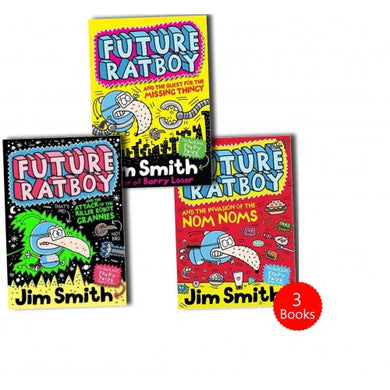 Future Ratboy 3 Books Set Collection