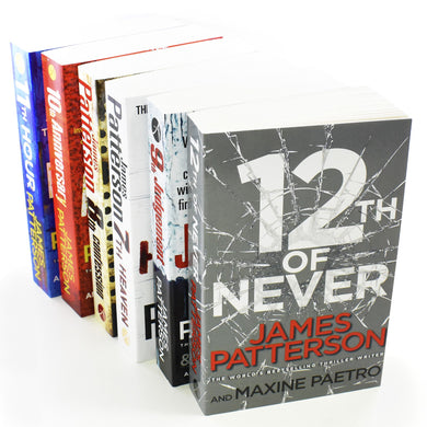 Women Murderclub Series 6 Books (7-12) Paperback Collection By James Patterson