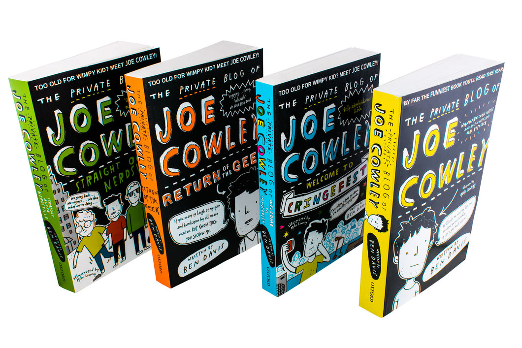 The Private Blog of Joe Cowley 4 Book Collection