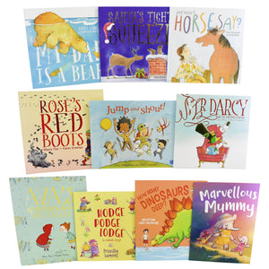 Jumps & Shout 10 Pictures Books Children Collection - Ages 0-5 - Paperback Set