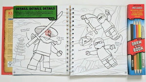Lego Ninjago Master of Spinjitzu: How to Draw - Bangzo Books Wholesale