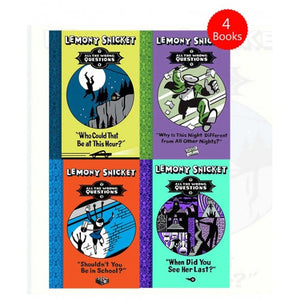 Lemony Snicket All The Wrong Questions 4 Books