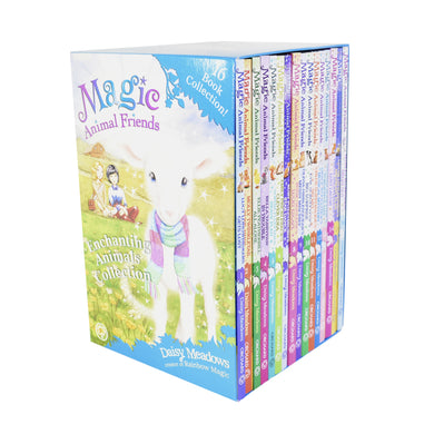 Magic Animal Friends 16 Books Children Collection Paperback Box Set By Daisy Meadows