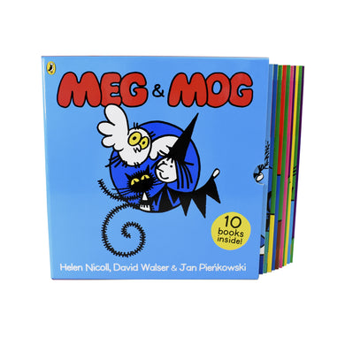 Meg and Mog Collection 10 Children Pictures Books Set