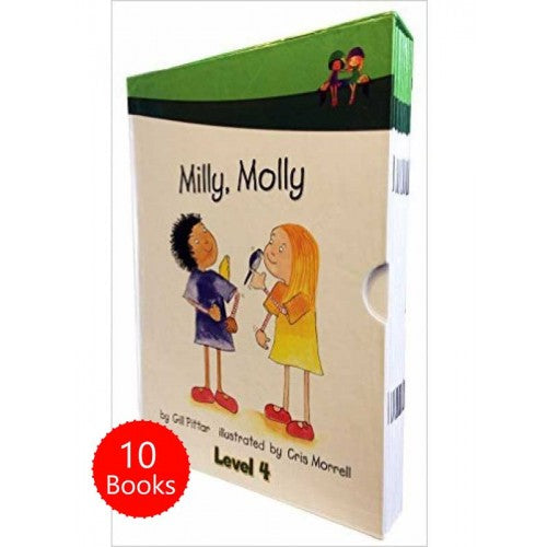 Milly Molly (Level Four) 10 Books Collection