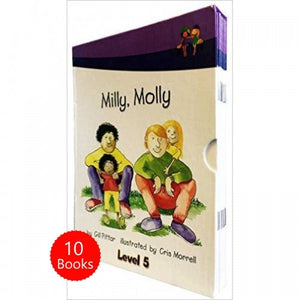 Milly Molly (Level Five) 10 Books Collection