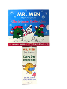 Mr Men & Little Miss Chritsmas 28 Childrens Books Set By Roger Hargreaves