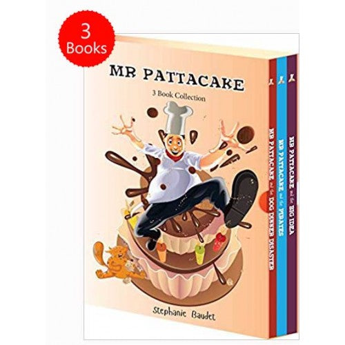 Mr Pattacake 3 Books Box Set