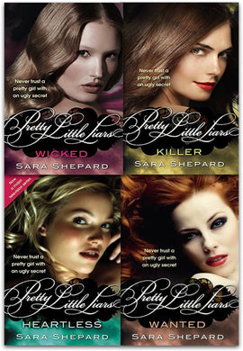 Wicked Pretty Little Liars Series 2 Collection By Sara Shepard 4 Books Set