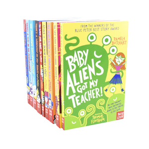 Baby Aliens Series Collection 9 Books Set – Ages 7-9 – Paperback - Pamela Butchart