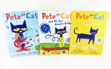 Load image into Gallery viewer, Pete The Cat 3 Books Children Collection Paperback By James Dean & Eric Litwin
