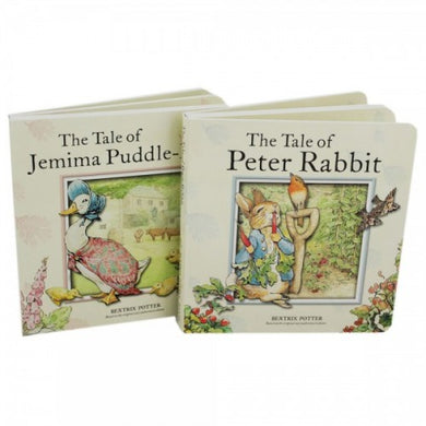 Beatrix Potter Peter Rabbit 2 Board Book Collection