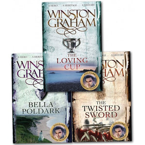 Winston Graham Poldark Series 3 Book Collection - Books 10-12