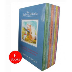 The Railway Rabbits 6 Books Box Set